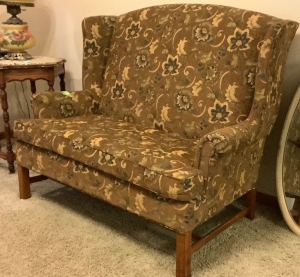 Best Chairs Inc Chippendale Settee Measures 50 x 32 x 42