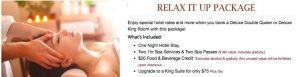 Riverside Hotel and Casino: Spa Package