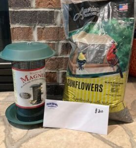 Birdfeeder Package 1: Donated by the Solon Feed Mill