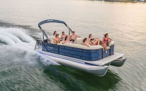 2 Hr Pontoon Rental @ Coralville Lake Marina
