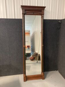 "Pier Mirror - late 19th century - measures 86""H x 25""W"