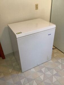"Haier chest freezer like new 21"" D x 28.5""W"