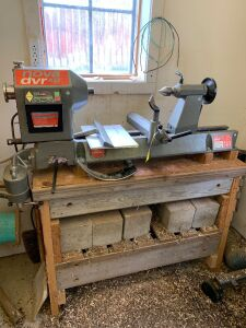 Nova DVR XP variable speed wood lathe and accessories