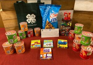 Snacks Galore & Games - Cosco, Johnson County Cattlemen and Johnson County 4-H