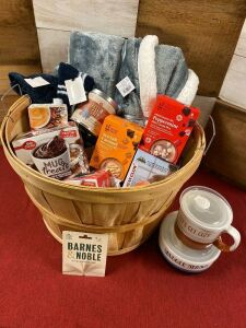 Warm and Cozy Basket - Sharon Center Sensations