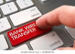 All invoices over $1500 or titled vehicles will require a wire transfer. Click here to read more.