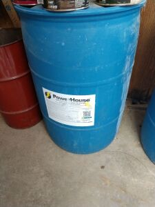 Approximately 35 gallons of Powerhouse Super Concentrate & Industrial Strength Exterior House and Building Wash