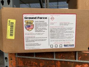 Ground Force caustic degreaser 5 gallon mix kit