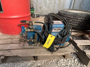 Electric Jetter Model 12E dual function jetter washer