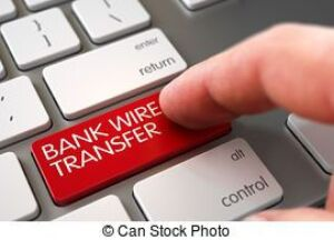 All invoices over $1500 or titled vehicles will require a wire transfer