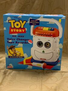Toy Story Mr Mike Voice Changer Tape Recorder