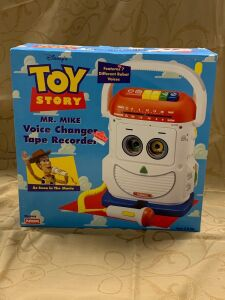 Toy Story Mr. Mike Voice Changer Tape Recorder