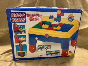 Mega Bloks Build'n Play Desk