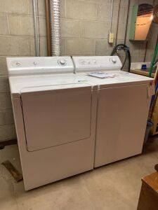 Maytag commercial quality washer and electric dryer