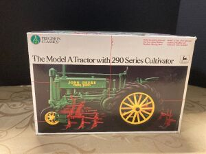 NIB John Deere The Model A Tractor with 290 Series Cultivator