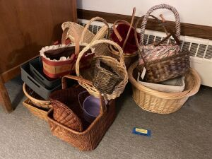 Baskets for anything and everything!