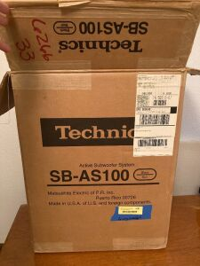 Technics subwoofer Model SB-AS100