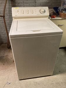 Maytag washing machine Model LAT9806AAM Serial 15379729SH