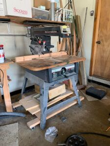 Craftsman 10 inch  electronic radial saw