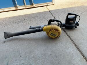 Craftsman electric blower/vac and McCulloch gas blower