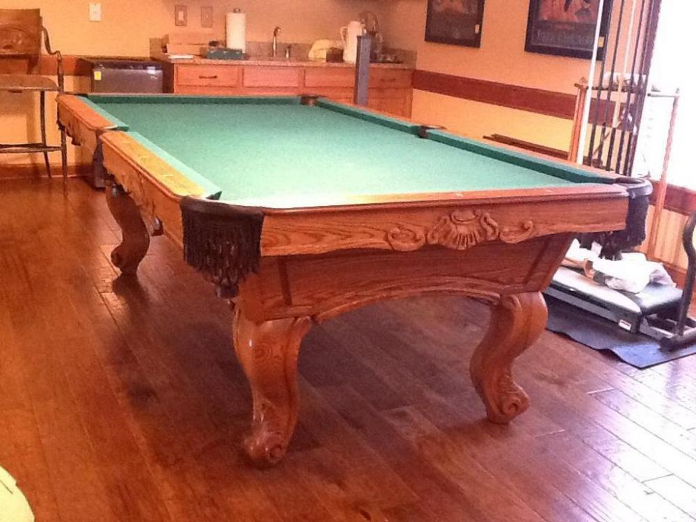 Olhausen 30th Anniversary Pool Table From 2004 Custom Model Cur Price 700