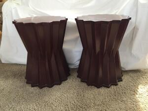 Pier1 wood side tables