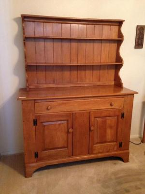 Cushman Colonial Shaker Style maple Hutch