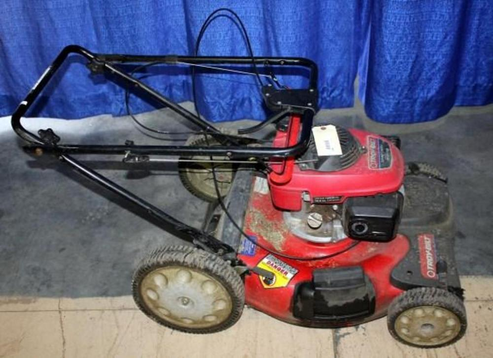 Honda Troy-bilt 5 5hp/160cc Push Mower - Current price: $46