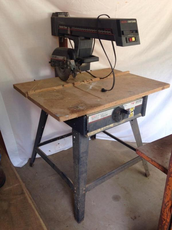 Sears Craftsman 10 Quot Radial Arm Saw 2 75 Hp Current Price 110