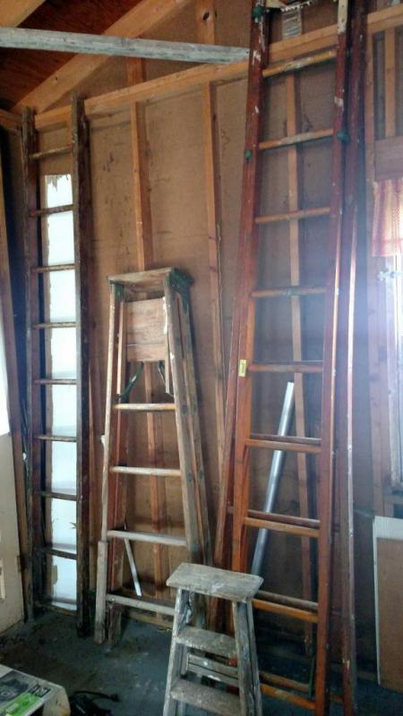 Wood Ladders 2 Foot Wood Step Ladder 6 Ft Heavy Duty Wood Step
