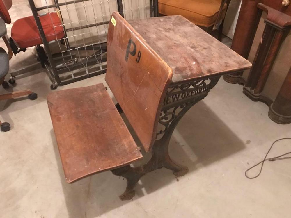 Cool School Desk Cast Iron Legs New Oxford Current Price 7 5 Download Free Architecture Designs Xoliawazosbritishbridgeorg
