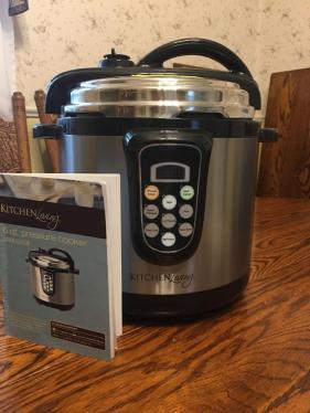 Kitchen Living 6qt Pressure Cooker Current Price 50