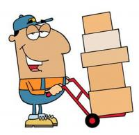 We will not have people there to help load large items, please bring appropriate manpower to move, haul, lug, load and heft your things from the home to your vehicle. Bring furniture dollies and carts if you need them to load your items.