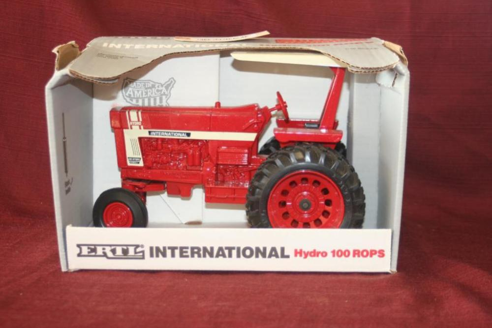International Hydro 100 ROPS Canopy Tractor duals WF NIB - Current price $25 & International Hydro 100 ROPS Canopy Tractor duals WF NIB - Current ...