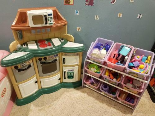 American plastic toys Inc. play kitchen and large variety of ...