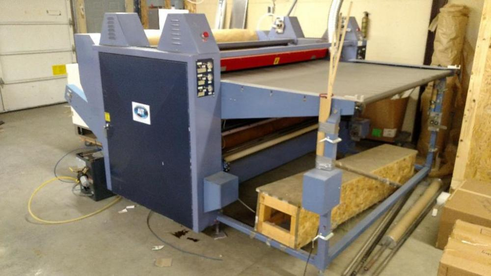 Astechnologies Fabric Printing Machine - 2002 Model 7572 Click here