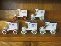 "5 Diecast Cars. ""Ford's 1st Delivery Car"", Some Political Themed"