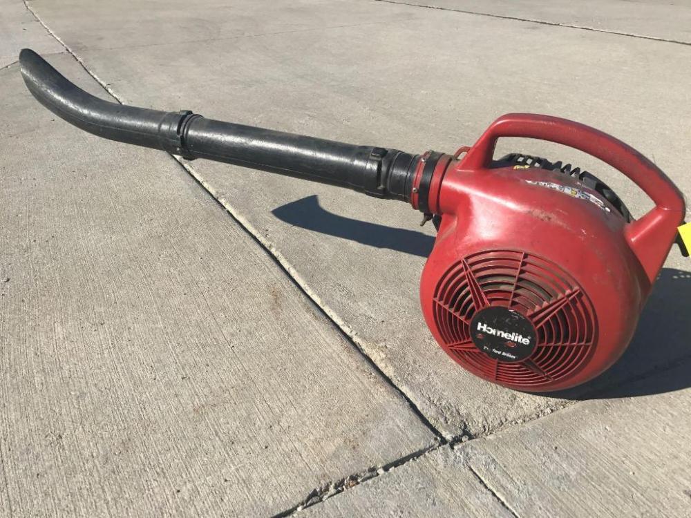 Homelite yard broom gas powered blower