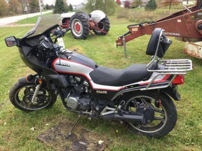 1984 Honda Sabre motorcycle, 18638 miles on odometer-HAS TITLE - unit was operational when last used.
