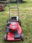 Craftsman 625 series 6.25 torque 22 inch cut self-propelled lawnmower with bagger working when last used