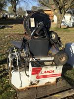 Lamar industrial pressure washer - working condition when last used