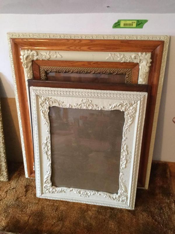 Vintage Wooden Ornate Frames
