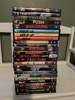 25 DVD movies - 3:10 to Yuma still in original packaging