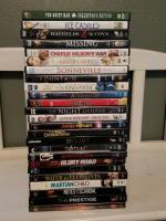 25 DVD movies- Hatfields and McCoys still in original packaging