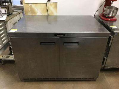 Delfield stainless steel double door cooler/workstation 30 x 48 x 34